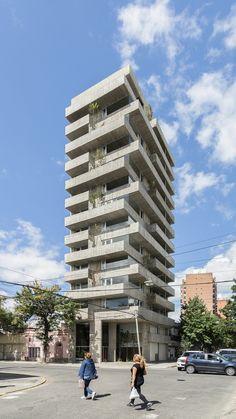 *아르헨티나 주거용 건물-[ Estudio Pablo Gagliardo ] Pueyrredón 1101 Building :: 5osA: [오사]