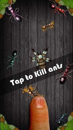 Amazing ant smasher is the best game for iphone, android, iPod and ipad. It a highly addicting game for kids, boys and girls.Wanna test?? Just visit https://itunes.apple.com/us/app/amazing-ant-smasher/id724279730?mt=8 for iOS devices and https://play.google.com/store/apps/details?id=air.couk.hamzagames.ultimatesmasher&hl=en for android devices.
