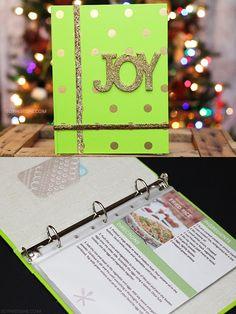 Holiday Gift Idea: DIY Recipe Book via @SheenaTatum #GiftCardCheer #TargetHolidayGiftCard