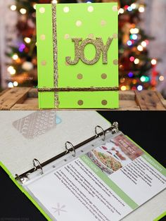 Holiday Gift Idea: DIY Recipe Book via @SheenaTatum #GiftCardCheer #TargetHolidayGiftCard