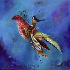 Catherine Rebeyre Little Birds, Fairy Tales, Illustration Art, Fantasy, Sculpture, Drawings, Artist, Inspiration, Image