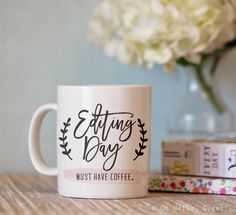 Editing Day Mug – Oh Hello Sugar 15oz