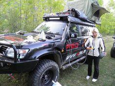 Nissan Patrol tent