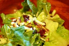 Green Apple Salad with poppyseed dressing
