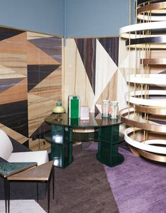 Wallcovering by Gio Ponti for Fromental | Dimore Studio