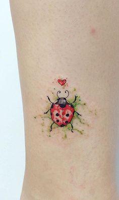 Ladybird / Ladybug Tattoo 🐞 *credit to owner*