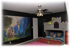 "Our Disney-themed Castle House Vacation Rental in Anaheim ""Princess/Castle Room""  http://www.anaheimcastlehouse.com/"