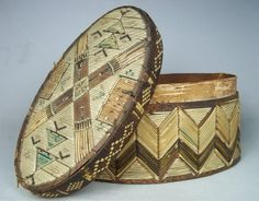porcupine quillwork native american lakota | Details about Antique Native American Quillwork Box, c1880