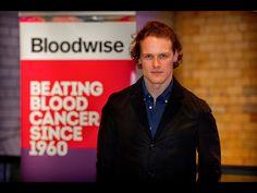 Outlander Sam Heughan New president of Scottish Bloodwise.