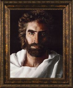 """[""""Akiane Kramarik's painting of Jesus was identified by Colton Burpo, in <i>Heaven is for Real</i>, as the """"right"""" picture of Jesus. This lovely piece is ready to be hung upon the wall and makes a perfect gift for any occasion.<br><br>The frame is embellished with metallic accents.<br><b><br>Product Details:</b><br>Size: 14"""" x 17""""<br>""""] $99.99"""