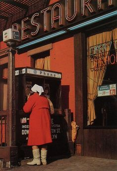 1970s NYC Waverly Restaurant 6th avenue Waverly Place NEW YORK CITY vintage photo GREENWICH VILLAGE