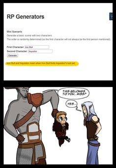 Dragon Age Comic - Lost pet by YukiSamui on DeviantArt <<< LOOK AT CULLEN THOUGH <<< SO CUTE!