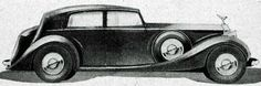 1937 Touring Saloon by Thrupp & Maberly - as designed