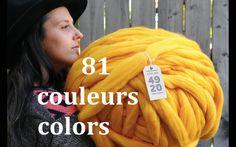 Laine FLYING 100% mérinos - XXL - FLYING yarn - non filée - Unspun - 19 microns - Atelier4920