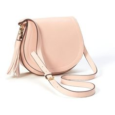 Old Navy Faux Leather Tassel Saddle Purse For Women ($35) ❤ liked on Polyvore featuring bags, handbags, shoulder bags, shoulder handbags, leather shoulder handbags, leather crossbody purse, faux leather crossbody and leather handbags