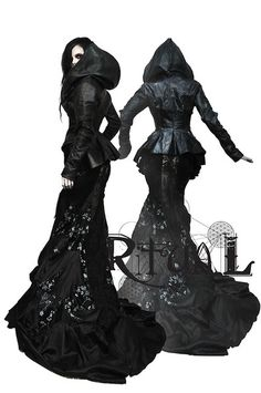 Ritual hooded dress