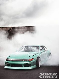 1989 Nissan 240SX S13 with Silvia Front End Conversion