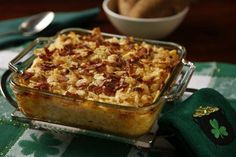Gooey Potato Casserole - Dallas Morning News Two kinds of cheese. Alfredo sauce. And sour cream, for good measure.