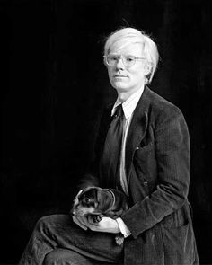 Andy Warhol, 1974, New York by Milton H Greene