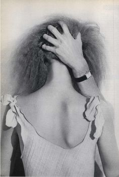 "Photo by Helmut Newton, May 1975, Editorial ""The Story of Ohhh…"", Vogue."