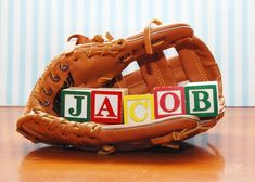 Perfect for baseball nursery.