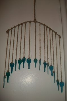 Handmade Key Windchime