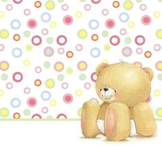 ♥ Forever Friends | Baby Bear Card ♥