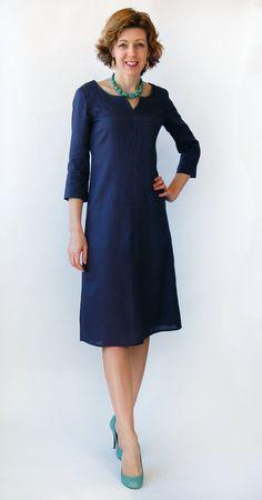 Lisette Diplomat Dress, Simplicity 1878 Sewing Pattern