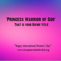 """Happy International Women's Day"""