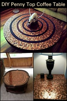 Do You Have an Old Side Table That Has Seen Better Days? Here's a Fun Way to Revive it!