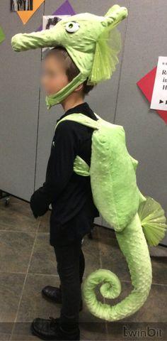 Custom Seahorse Costume. SKB