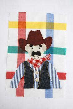 Howdy Cowboy! Machine Embroidery, Snoopy, Fictional Characters, Art, Art Background, Kunst, Gcse Art, Fantasy Characters, Machine Embroidery Designs