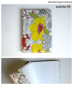 caderno A5 | notebook A5  padrao_05  http://danielapereira.com/