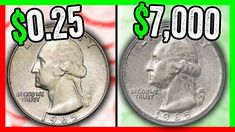 WHICH 1965 QUARTERS ARE WORTH MONEY? RARE QUARTER COINS TO LOOK FOR IN P...