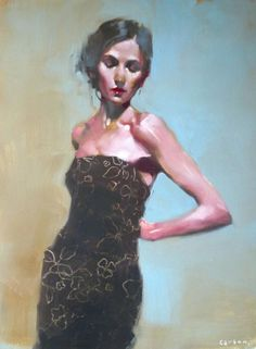Kai Fine Art is an art website, shows painting and illustration works all over the world. Muse, Oil Portrait, Illustrations, Figure Painting, Woman Painting, Figurative Art, Contemporary Artists, Fine Art, Milt Kobayashi