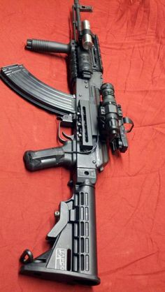 OURS WILL BE THIS TACTICAL IN THE FUTURE... AK47