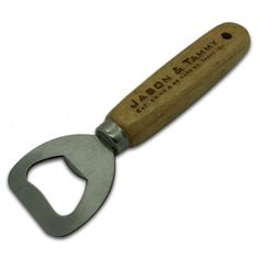 Personalized Wood Beer Bottler Opener  Engraved von TealsPrairie, $4.99