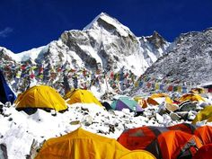 Dream climb: Everest Base Camp - This is one for the bucket list. Climbing to Everest's base camp is no mean feat – you need to be physically and mentally prepared for a trek like this – but the feeling of achievement you'll be rewarded with is priceless. This three-week hike takes in some amazing scenery and reaches heights of 18,193 feet at Kala Patthar.
