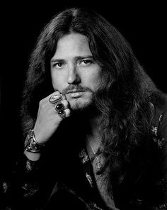 David Coverdale - A brilliant and rare promotional photo from the mid 1970's © Deep Purple (Overseas)