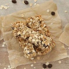 Oatmeal Raisin Granola Bars - EatingWell.com