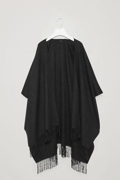 COS image 1 of Fringed cape in Black