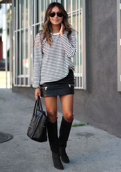 Sincerely Jules In Tee From GAP Skirt From Zara Isabel Marant Boots Sunglasses From Ray Ban