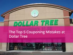 Don't Make These 5 Mistakes at Dollar Tree!