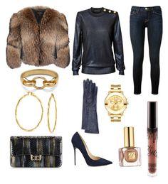 """The Blue-zzzzz"" by perceptionandco on Polyvore featuring Chanel, Frame Denim, Movado, Adrienne Landau, Diane Von Furstenberg, Estée Lauder, Bottega Veneta and Bling Jewelry"