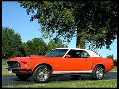 1969 Ford Mustang Grande presented as lot F198 at Des Moines, IA 2012 - image1