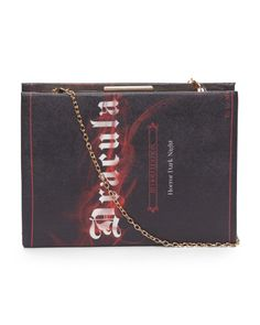 773b4b772d727 Dracula Book Clutch - Novelty Bags - T.J.Maxx