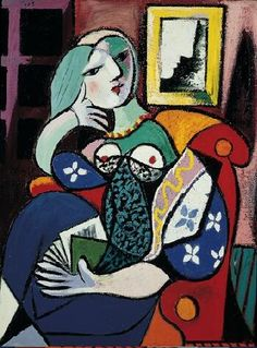 Woman with book - Pablo Picasso, 1932