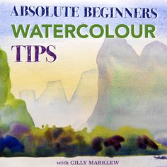 Discover a wide range of watercolour tips aimed at complete newcomers.   Instructor Gilly Marklew will take you through a series of 4 exercises designed to help you get to grips with watercolour and instil confidence from the start.