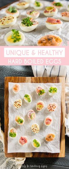 Unique and Healthy Hard Boiled Eggs for Game Day, Meal Prep, Protein Rich Snacks, and more! Get The Recipe! [ad] #EggceptionallyGreat #eggs #protein