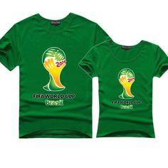 World Cup 2014 T shirt Jules Rimet Cup T-shirt Brazil 2014 World Cup Tshirt college $14.99